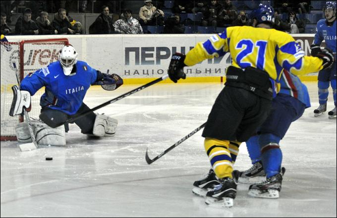 Сборная Украины покинула элиту мирового хоккея в 2007-м