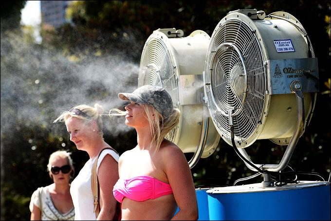 В Австралии ожидается жаркая погода