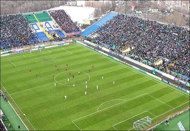"""Стадион """"Металлург"""", Самара"""