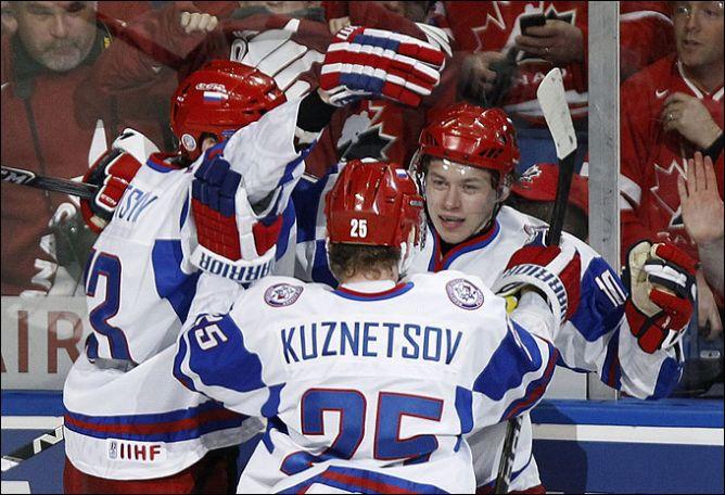 5 января 2011 года. Молодежный чемпионат мира. Канада - Россия - 3:5.
