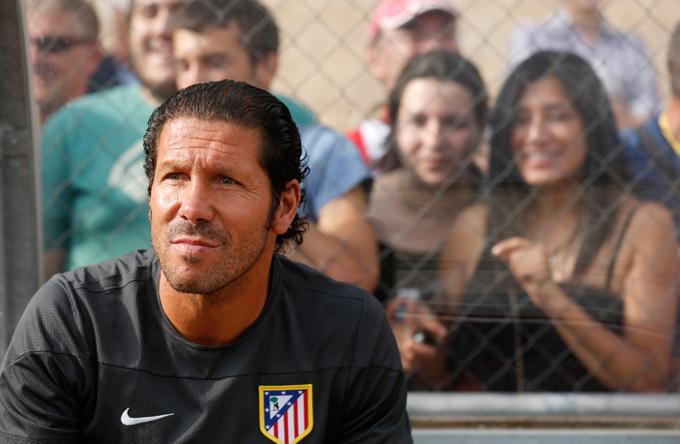 """В самом сложном положении сейчас – тренер """"Атлетико"""" Диего Симеоне"""