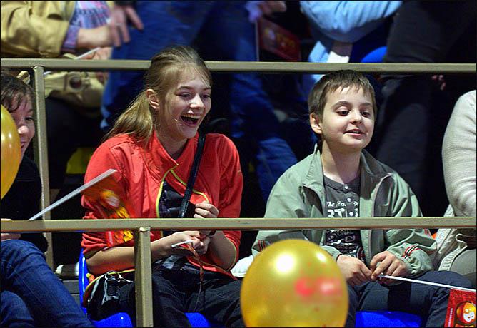 Детский восторг – лучшая оценка для организаторов концерта
