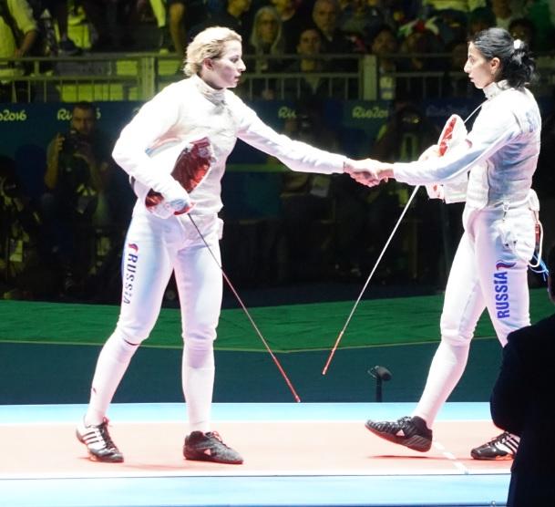 Инна Дериглазова и Аида Шанаева