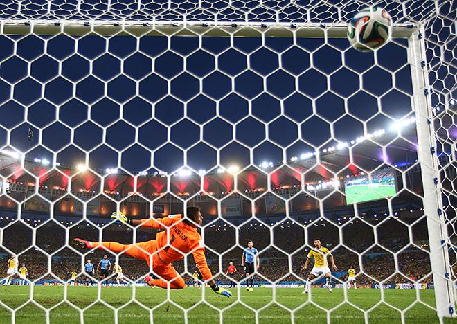 Первый гол колумбийца Хамеса Родригеса