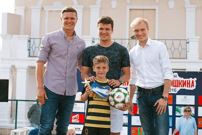 Виталий Лысцов, Сергей Ткачёв и Владимир Москалёв