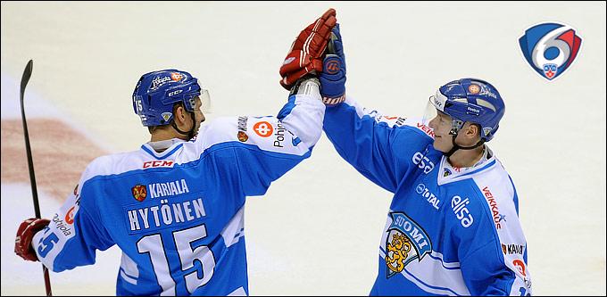 Третья сборная Финляндии практически лишила россиян на шансы выиграть Евротур