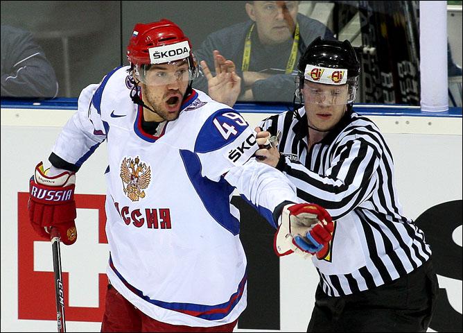 8 мая 2011 года. Братислава. Чемпионат мира. Чехия — Россия — 3:2