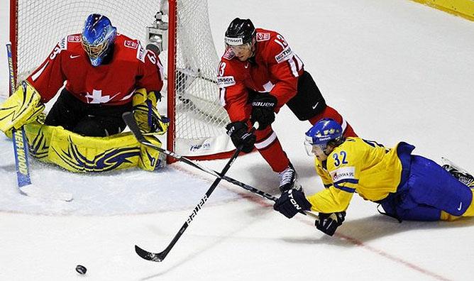 8 мая 2011 года. Кошице. Чемпионат мира. Швеция – Швейцария – 2:0