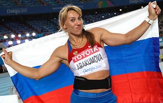 Тэгу-2011. Мария Абакумова
