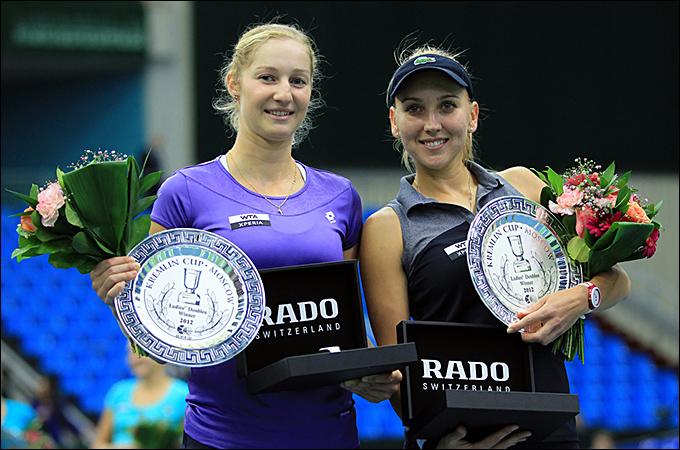 Елена Веснина и Екатерина Макарова победили на Кубке Кремля