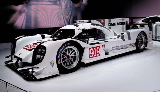 Porsche 919 Hybrid (дебют в 2014 году)
