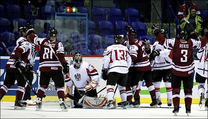 8 мая 2011 года. Кошице. Чемпионат мира. Латвия – Австрия – 4:1