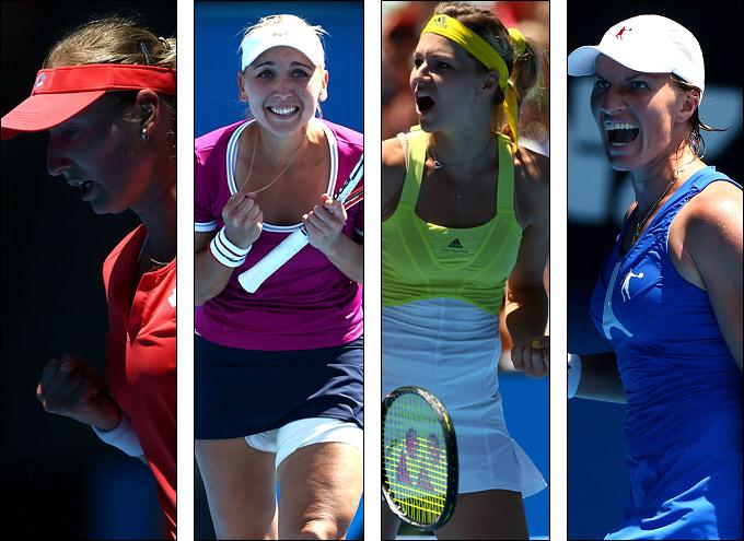 Макарова, Веснина, Кириленко и Кузнецова хорошо сыграли на Australian Open