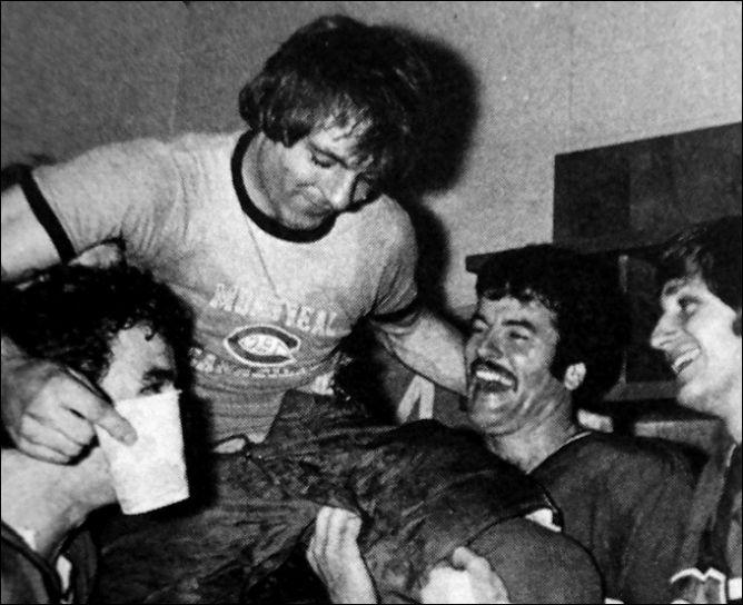 Фрагменты сезона. 20 сентября 1976 года. 25-летие Ги Лефлера совпало с открытием сезона.