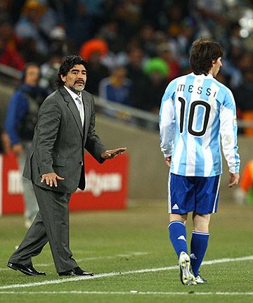 Марадона-тренер руководил Аргентиной на последнем чемпионате мира