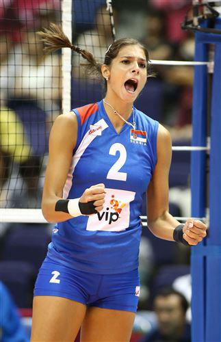 Йована Бракочевич — лидер сборной Сербии