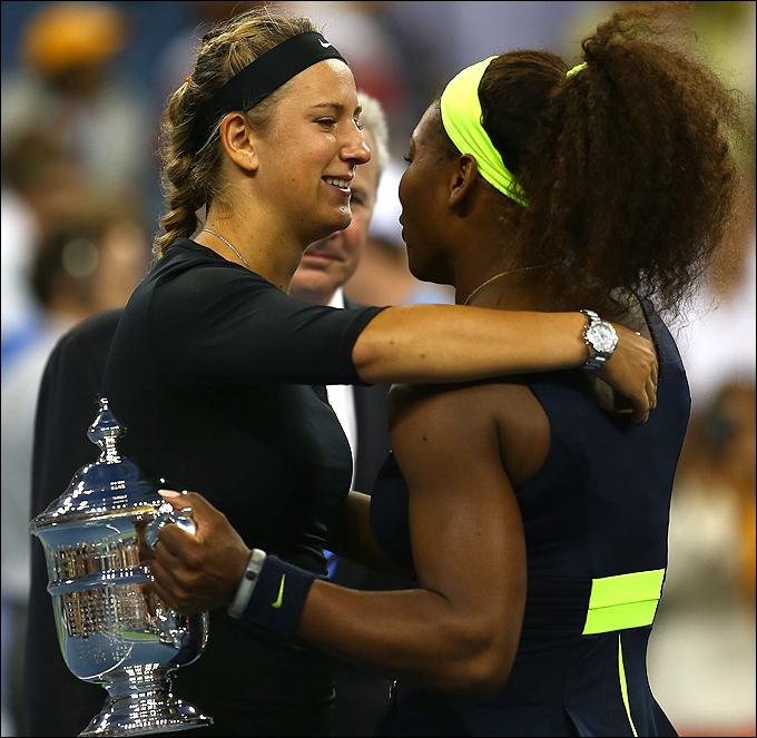 Серена Уильямс стала чемпионкой, обыграв Викторию Азаренко