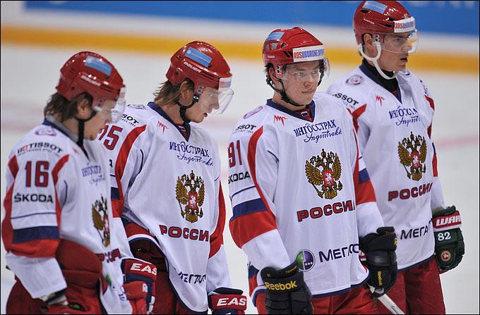 Сергей Плотников, Игорь Макаров, Владимир Тарсенко и Евгений Медведев