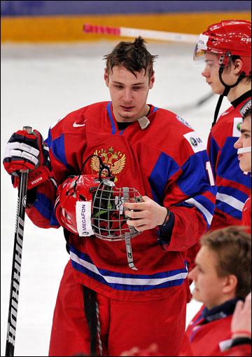 Валерий Ничушкин в молодежной сборной России