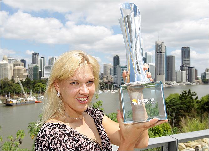 Эстонка Кайя Канепи в 26 лет выиграла свой второй титул в карьере.