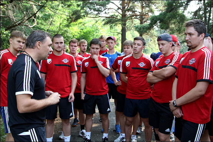 Евгений Галкин и его команда