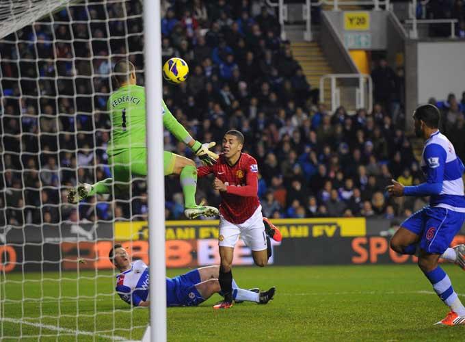 """""""Рединг"""" — """"Манчестер Юнайтед"""" — 3:4"""