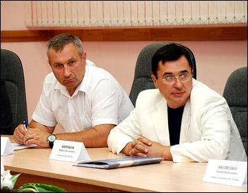 Павел Гамзин и Юрий Бирюков