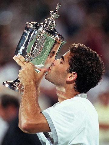"""Пит Сампрас выиграл на US Open первый и последний """"Шлемы"""""""