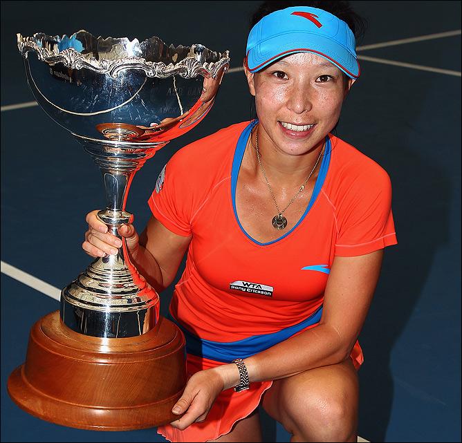 Чжэн Цзе спустя шесть лет вновь почувствовала вкус побед.