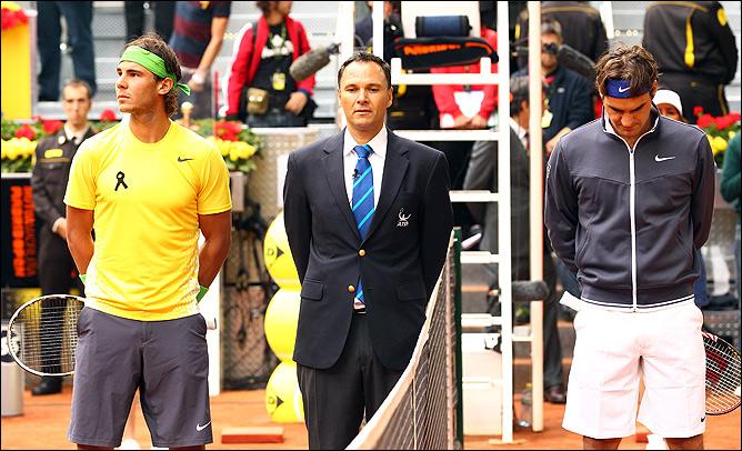 Рафаэль Надаль – Роджер Федерер – 16:8.