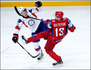 Павел Дацюк против сборной Норвегии