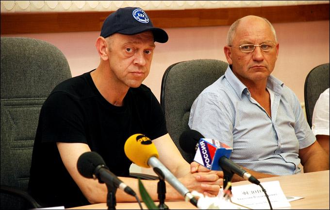Анатолий Федотов и Николай Давыдкин