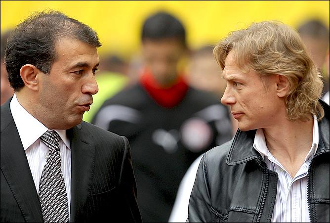 Рашид Рахимов и Валерий Карпин