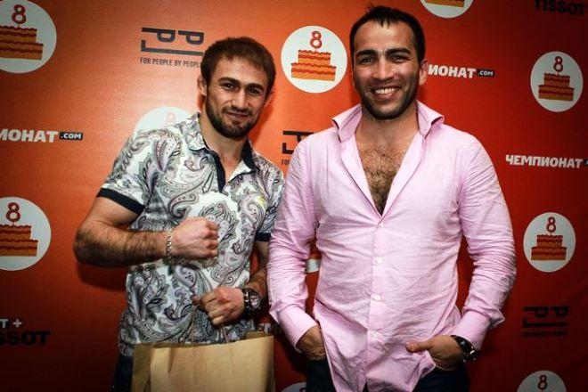 Али Багаутинов и Камил Гаджиев