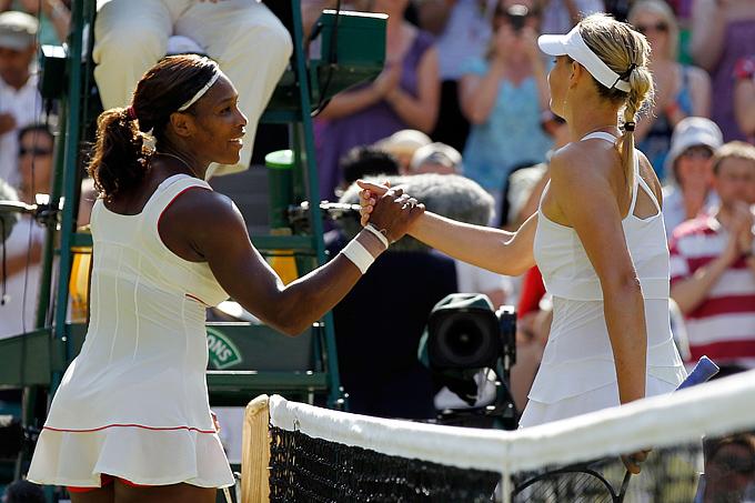 Лондон-2012. Теннис. Серена Уильямс и Мария Шарапова