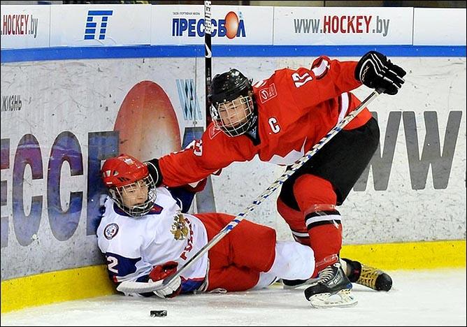 20.04.2010. Чемпионат мира U-18. Россия - Швейцария - 4:3. Фото 06.