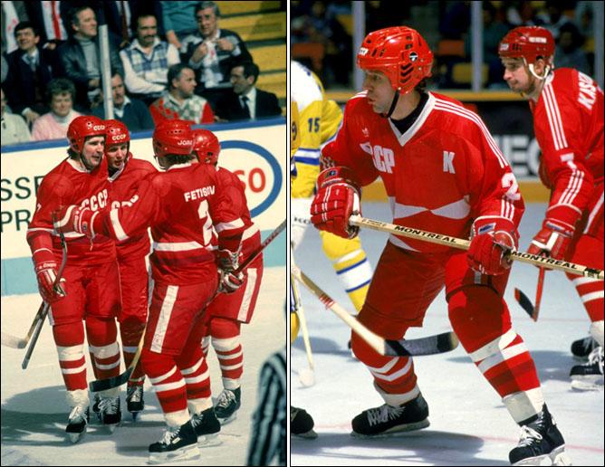 Хоккей. История чемпионатов мира. ЧМ-1985-1987. Фото 05.