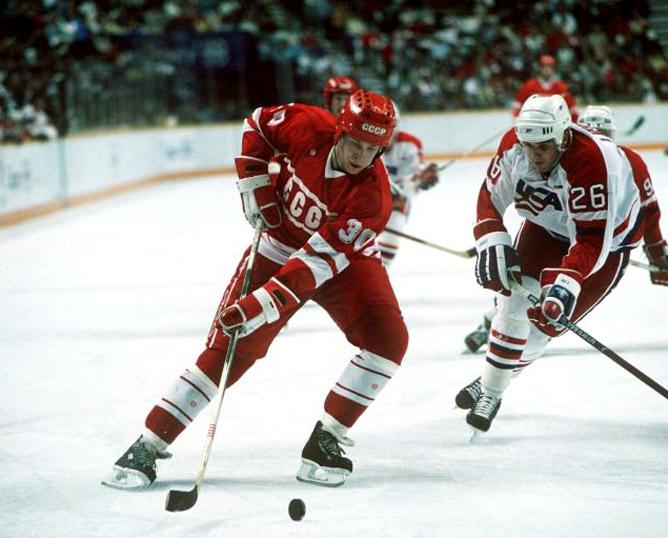 Хоккей. История чемпионатов мира. ЧМ-1985-1987. Фото 06.