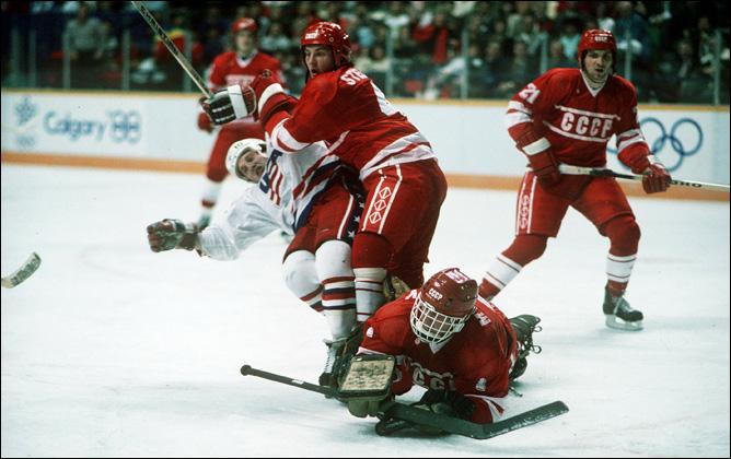 Хоккей. История чемпионатов мира. ЧМ-1985-1987. Фото 08.