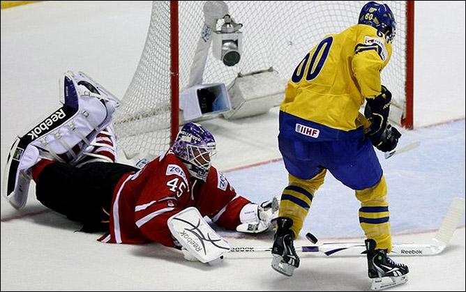 9 мая 2011 года. Кошице. Чемпионат мира. Канада — Швеция — 3:2