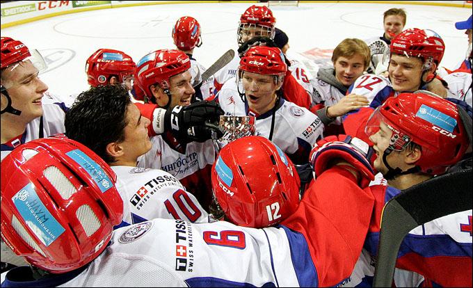 Молодежная сборная России на Subway Super Series