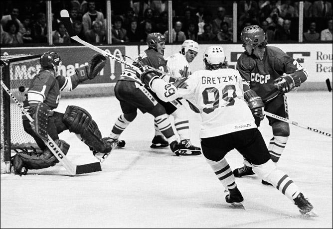 Топ-100 историй ИИХФ. История № 9. Кубок Канады-1981. 8:1. Фото 01.