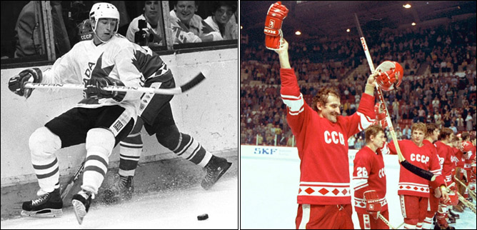Топ-100 историй ИИХФ. История № 9. Кубок Канады-1981. 8:1. Фото 02.