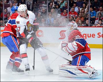 """9 мая 2013 года. Монреаль. Плей-офф НХЛ. 1/8 финала. Матч № 5. """"Монреаль"""" — """"Оттава"""" — 1:6"""