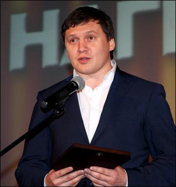 Денис Луговик на закрытии сезона ВХЛ-2012/13