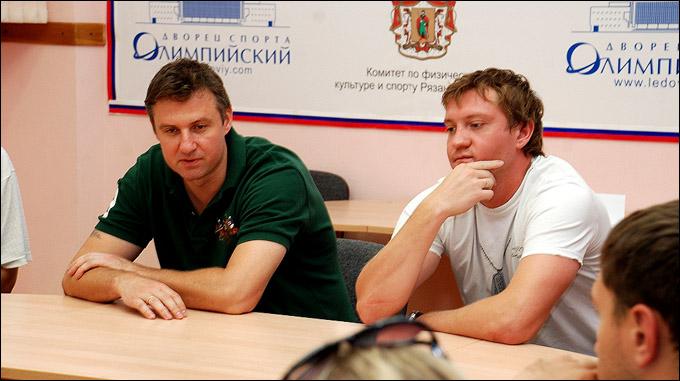 Ян Голубовский и Максим Коробов