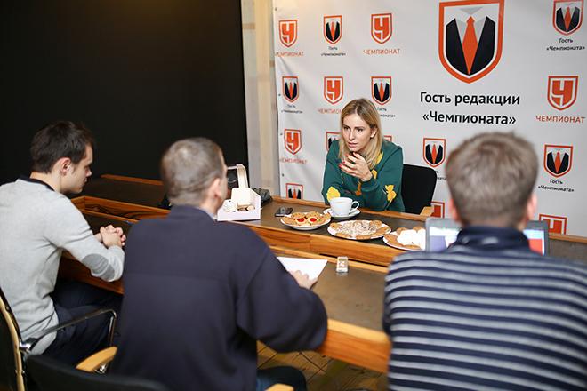 Ксения Первак в редакции «Чемпионата»