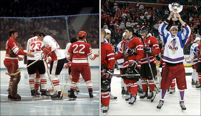 Русские и канадцы. Хоккей на все времена