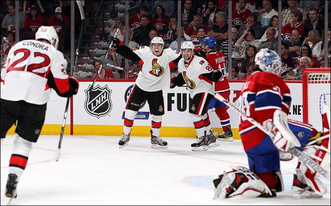 """9 мая 2013 года. Монреаль. Плей-офф НХЛ. 1/8 финала. Матч № 5. """"Монреаль"""" — """"Оттава"""" — 1:6. """"Оттава"""" идёт дальше"""