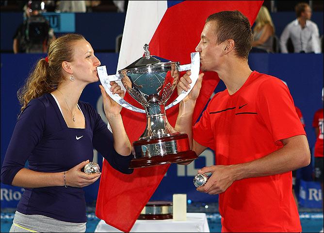 Петра Квитова и Томаш Бердых не знали себе равных на Кубке Хопмана.